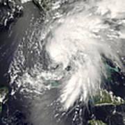 Tropical Storm Fay Art Print