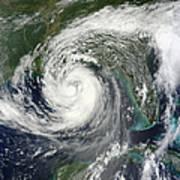 Tropical Storm Isaac Moving Art Print
