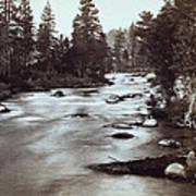 Truckee River - California - C 1865 Art Print