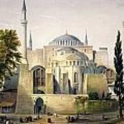 Turkey: Hagia Sophia, 1852 Art Print by Granger