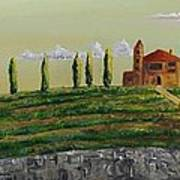 Tuscan Guest House Art Print