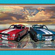 Twin 65s Art Print