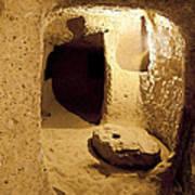 Underground Caves Derinkuyu Art Print