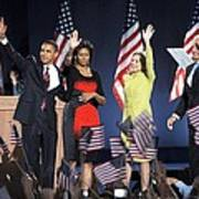 U.s. President Elect Senator Barack Print by Everett