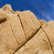 Usa, California, Joshua Tree National Park, Rock Formations Art Print