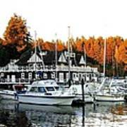 Vancouver Rowing Club Art Print