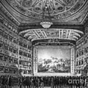 Venice: Teatro La Fenice Art Print