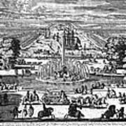 Versailles: Gardens, 1685 Art Print
