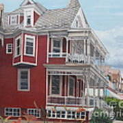 Victorian Afternoon Cape May Art Print