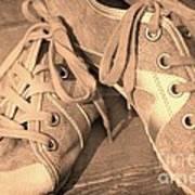 Vintage Sneakers Art Print