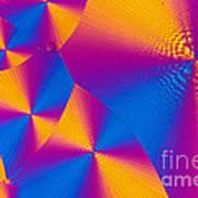 Vitamin H Crystal Art Print