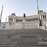 Vittoriano Monument To Victor Emmanuel II. Rome Art Print by Bernard Jaubert