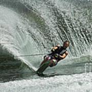 Water Skiing Magic Of Water 27 Art Print