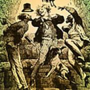 Weightlessness, 19th Century Art Print