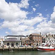 Weymouth Harbour Art Print