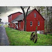 Williston Mill Art Print