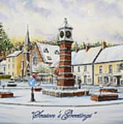 Winter In Twyn Square Art Print