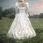 Woman With Bonnet Print by Joana Kruse