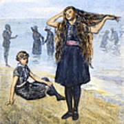 Womens Fashion, 1886 Art Print