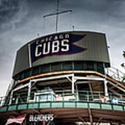 Wrigley Field Bleachers Art Print