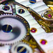 Wrist Watch Interior Art Print by Pasieka