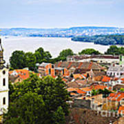 Zemun Rooftops In Belgrade Art Print