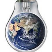 Global Warming, Conceptual Image Art Print
