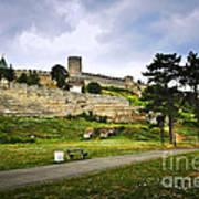 Kalemegdan Fortress In Belgrade Print by Elena Elisseeva
