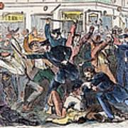 New York: Draft Riots Art Print