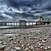 Penarth Pier Art Print