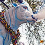 Rex Mardi Gras Parade Art Print