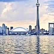 Toronto Skyline Art Print by Elena Elisseeva