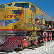100 Years Of Union Pacific Railroading Art Print