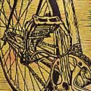 Bike 3 Art Print by William Cauthern