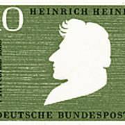 Heinrich Heine (1797-1856) Art Print