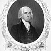 James Madison (1751-1836) Art Print