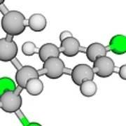 Molecular Model Art Print