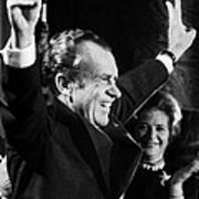 Richard Nixon (1913-1994) Art Print