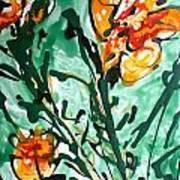 Divineflowers Art Print