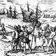 Christopher Columbus Art Print by Granger