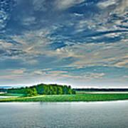 1206-9119 Arkansas River At Spadra Park  Art Print