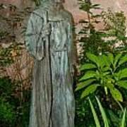 Gardens In Carmel Monastery Art Print