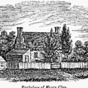 Henry Clay (1777-1852) Art Print