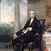 James Monroe (1758-1831) Art Print