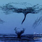 Waterspout Art Print