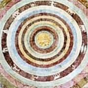 14th Century Theological Cosmography Art Print by Sheila Terry