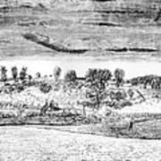 Battle Of Concord, 1775 Art Print