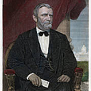 Ulysses S. Grant (1822-1885) Art Print