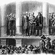 Washington: Inauguration Art Print