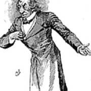 Benjamin Disraeli (1804-1881) Art Print